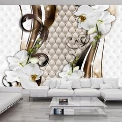 Basera® Fototapete Orchideenmotiv b-A-0062-a-b, Vliestapete