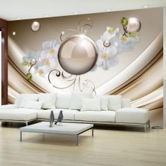 Artgeist Fototapete - Golden Abstract