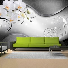 Basera® Fototapete Orchideenmotiv b-A-0162-a-b, Vliestapete