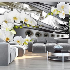 Artgeist Fototapete - Orchids & jewelry
