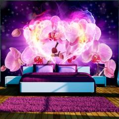 Basera® Fototapete Orchideenmotiv 10110906-76, Vliestapete