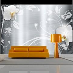 Basera® Fototapete Orchideenmotiv b-A-0055-a-a, Vliestapete