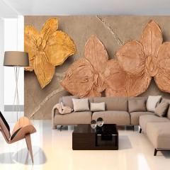 Artgeist Fototapete - Painted Orchids