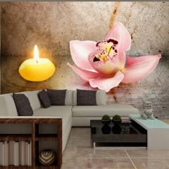 Basera® Fototapete Orchideenmotiv 10110906-24, Vliestapete