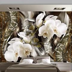 Basera® Fototapete Orchideenmotiv b-C-0021-a-b, Vliestapete