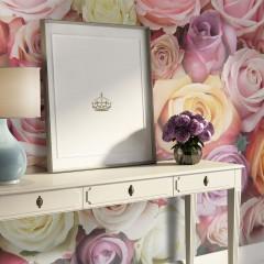 Artgeist Fototapete - Pastel roses