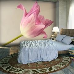 Artgeist Fototapete - Pink tulip