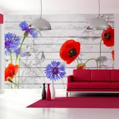 Artgeist Fototapete - Wildflowers