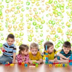 Artgeist Fototapete -  Fun Bubbles
