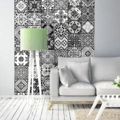Artgeist Fototapete - Arabesque - Black& White