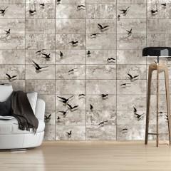 Artgeist Fototapete - Bird Migrations
