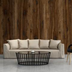 Artgeist Fototapete - Dark Wood