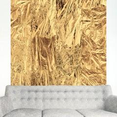 Artgeist Fototapete - Golden clouds