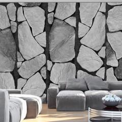 Artgeist Fototapete - Grau der Felsen