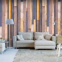 Artgeist Fototapete - Holz-Allianz