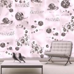 Artgeist Fototapete - Pink Jewels