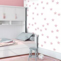 Artgeist Fototapete - Pink Stars