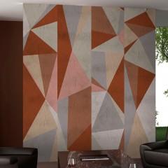 Artgeist Fototapete - Triangles - composition