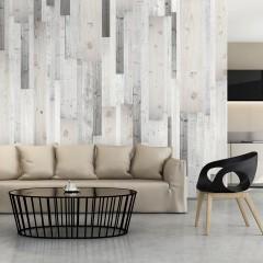 Artgeist Fototapete - Wooden Cover