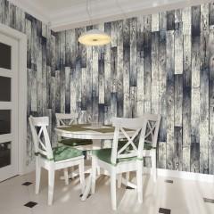 Artgeist Fototapete - Wooden floor: gradient
