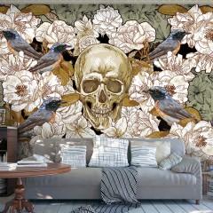 Artgeist Fototapete - Among flowers