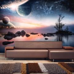 Artgeist Fototapete - Cosmic landscape