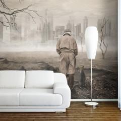 Artgeist Fototapete - Ghost's city