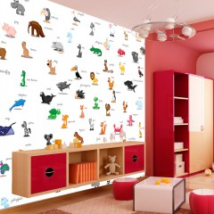 Artgeist Fototapete - Tiere (für Kinder)