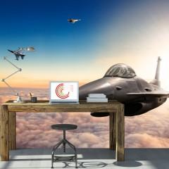 Artgeist Fototapete - F16 Fighter Jets