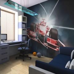 Artgeist Fototapete - Formel-1 : Dynamik und Energie