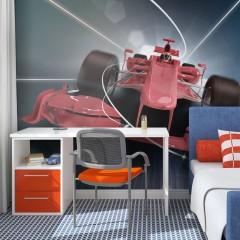 Artgeist Fototapete - Formel-1-Wagen