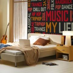 Artgeist Fototapete - Music is my life