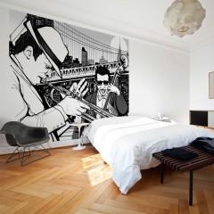 Artgeist Fototapete - New York, Musik, Jazz...