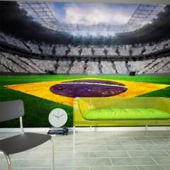 Artgeist Fototapete - Brasilianisches Stadion