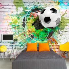 Artgeist Fototapete - Colourful Sport