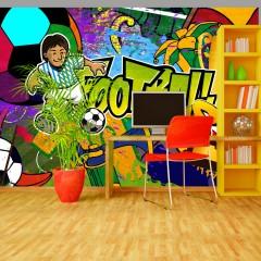 Artgeist Fototapete - Football Cup
