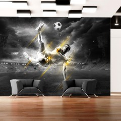 Artgeist Fototapete - Fußball-Legende