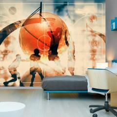 Artgeist Fototapete - I love basketball!
