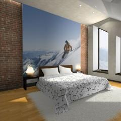 Artgeist Fototapete - Skisport