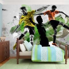 Artgeist Fototapete - Soccer stars