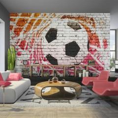 Artgeist Fototapete - Street football