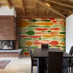 Basera® Fototapete Küchenmotiv 100405-31, Vliestapete