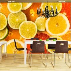 Artgeist Fototapete - Citrus fruits