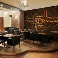 Artgeist Fototapete - Latte, espresso, cappucino...