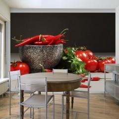 Basera® Fototapete Küchenmotiv 100408-22, Vliestapete