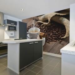 Artgeist Fototapete - Star anise coffee