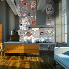 Basera® Fototapete Küchenmotiv 100405-102, Vliestapete