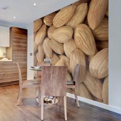 Artgeist Fototapete - Tasty almonds