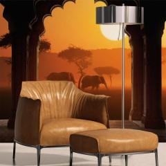 Artgeist Fototapete - Hear Africa