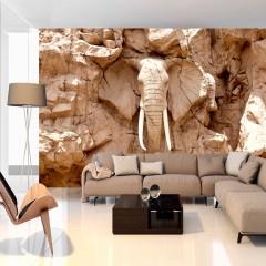 Artgeist Fototapete - Stone Elephant (South Africa)